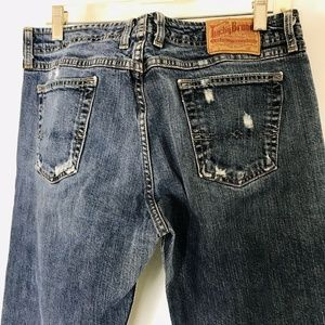 Lucky Brand Wonder Jeans Womens 10 / 30 Distressed